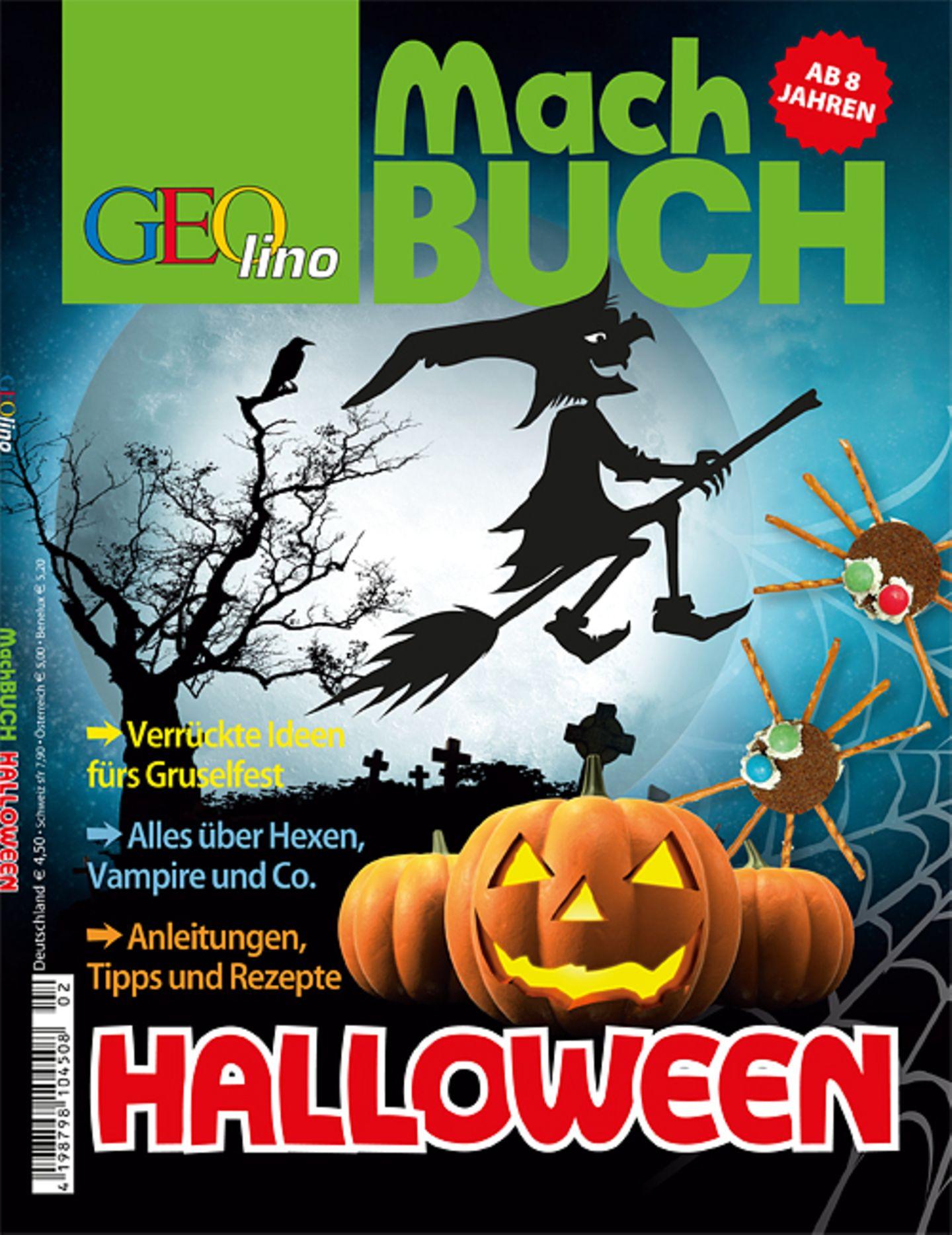 Kreativ: Das GEOlino-Machbuch: Halloween