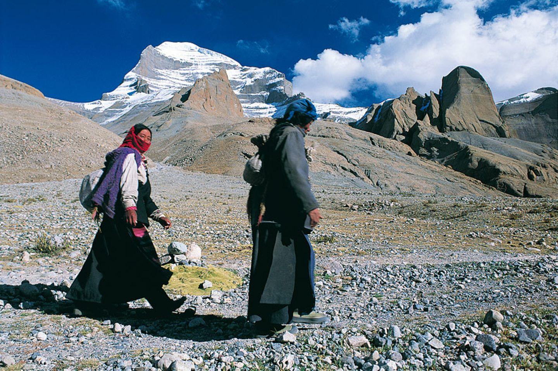 Pilgerweg: Der schwierigste Pilgerpfad der Welt - rund um den Kailash, Tibet