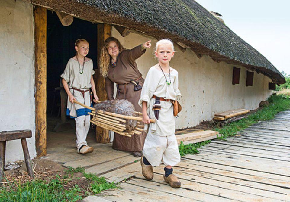 Wikinger: Zeitsprung - zu Besuch im Wikingerdorf - Bild 4