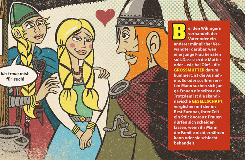Wikinger: Comic: Eine Frau steht ihren Mann - Bild 4
