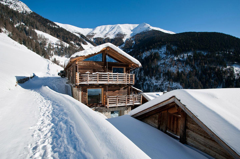 Berghütte: Montagne Alternative in Commeire, Orsières, Kanton Wallis