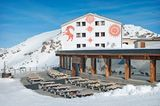 Berghütte: Berghaus Diavolezza, Pontresina, Kanton Graubünden