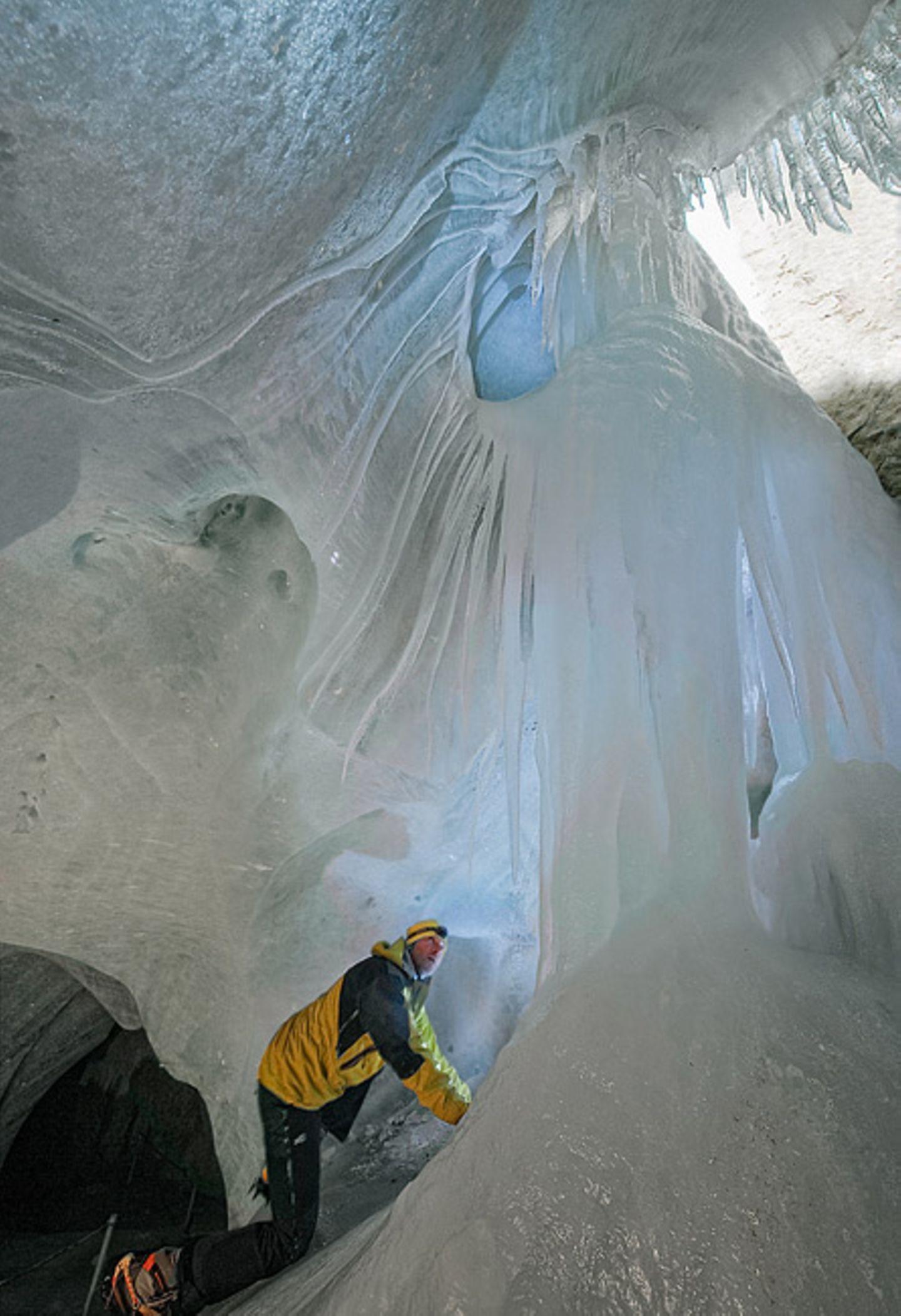 Berchtesgardener Land: Eis im Berg