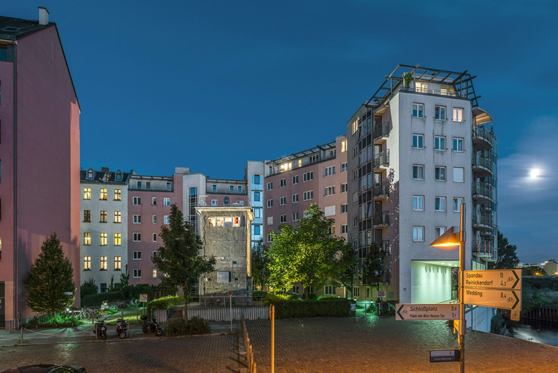 6. Gedenkstätte Günter Litfin, Kieler Straße 2