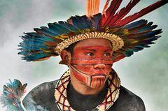 Asurini do Tocantins-Mann, Pará, Brasilien