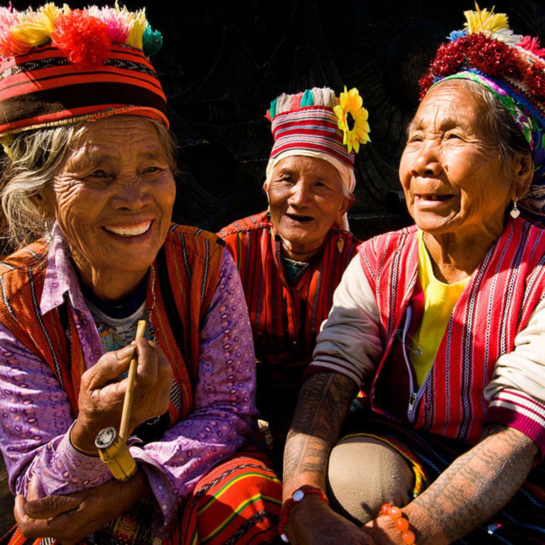 Igorot-Frauen, Baguio City, Philippinen