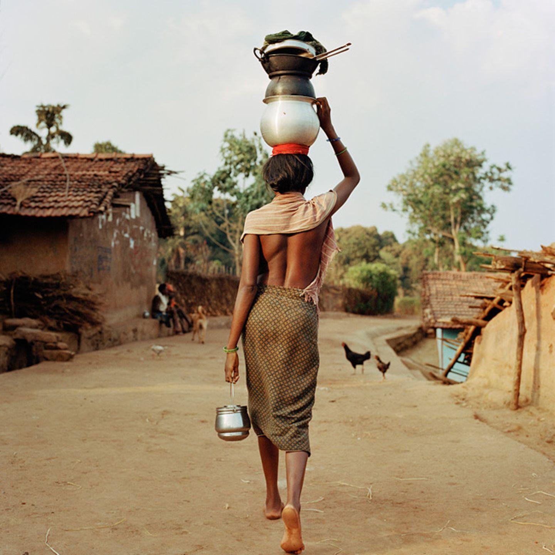 Kondh-Frau, Kucheipadar, Odisha, Indien