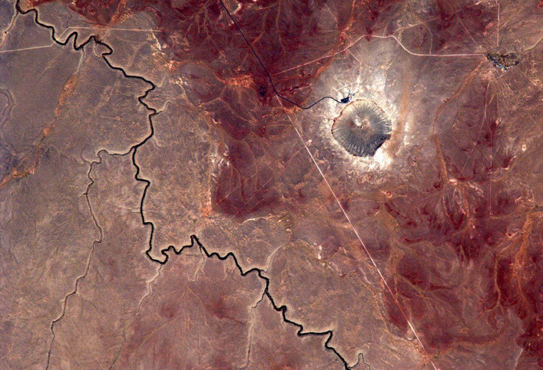 Barringer Meteorite Crater, Arizona