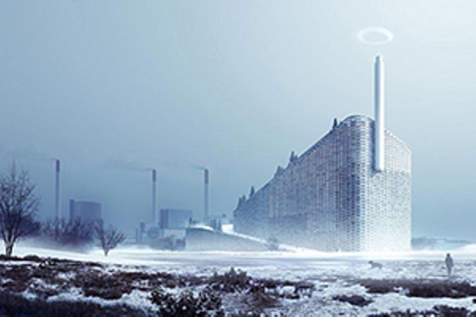 Müllheizkraftwerk: Alpenglühen in Kopenhagen