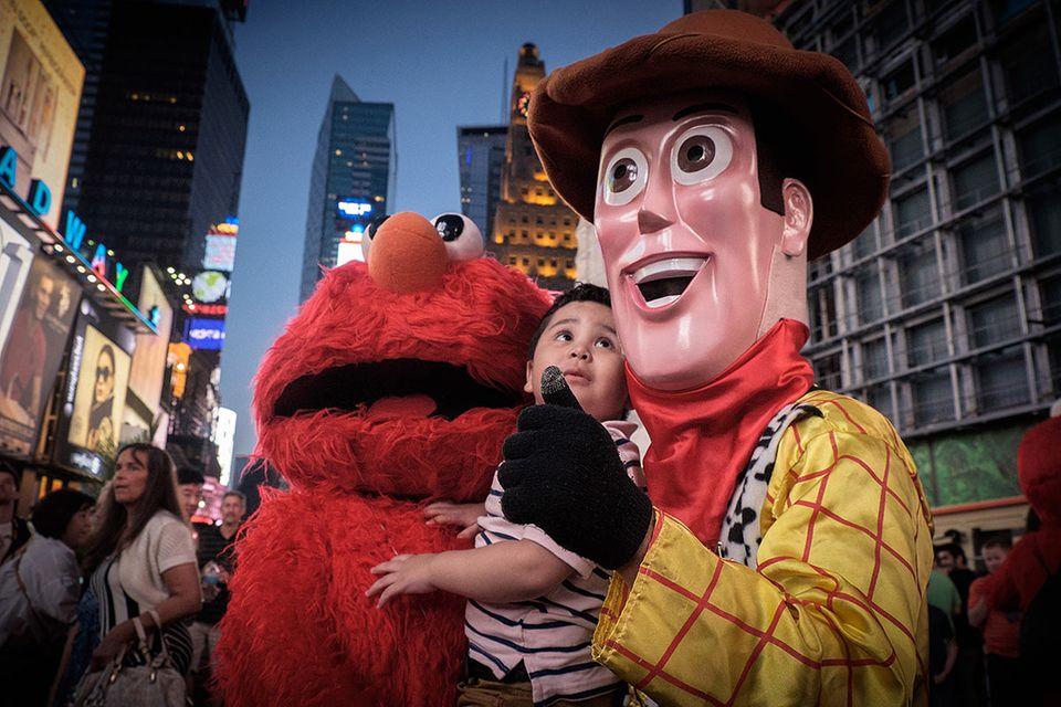 New York: Hinter den Masken des Times Square