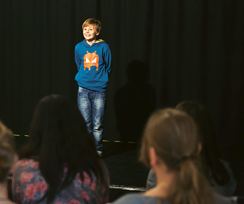 Schauspiel: Zu Besuch in der Kinder-Schauspielschule