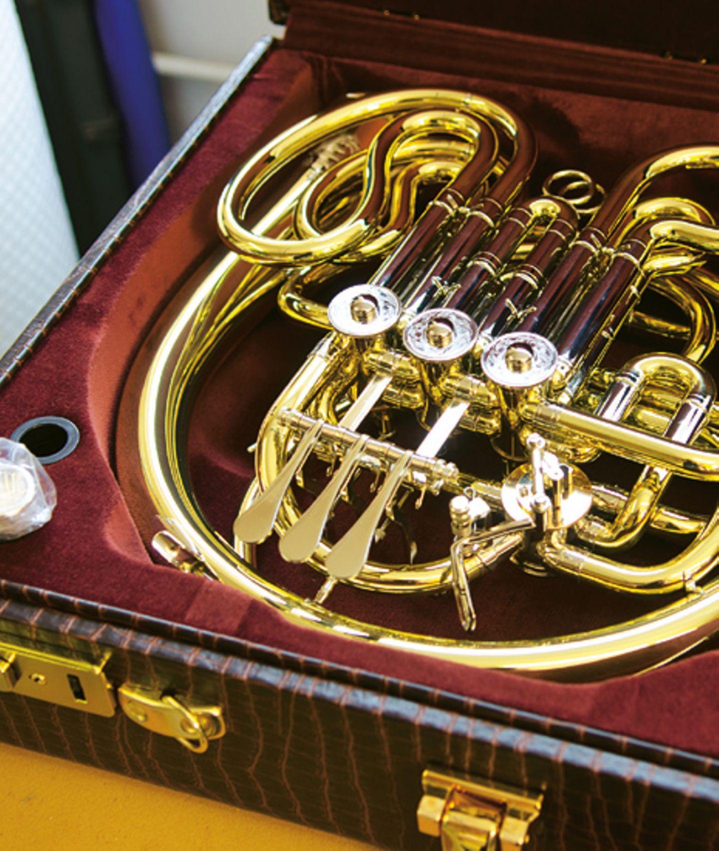 Musikinstrumente: Musik: Wie Hörner gebaut werden - Bild 12