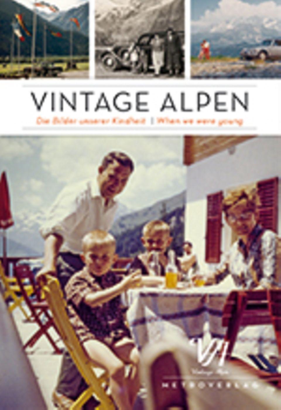 Vintage Alpen: Vintage Alpen, Daniela Horvath, Michael Martinek, 160 Seiten, Texte auf Deutsch und Englisch, 19,90 Euro, erschienen bei Metroverlag, 2014