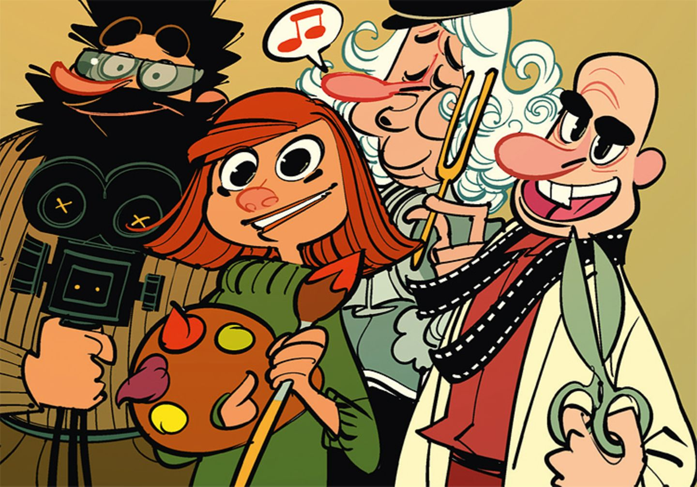 Comic: Wie entsteht ein Film? - Bild 3