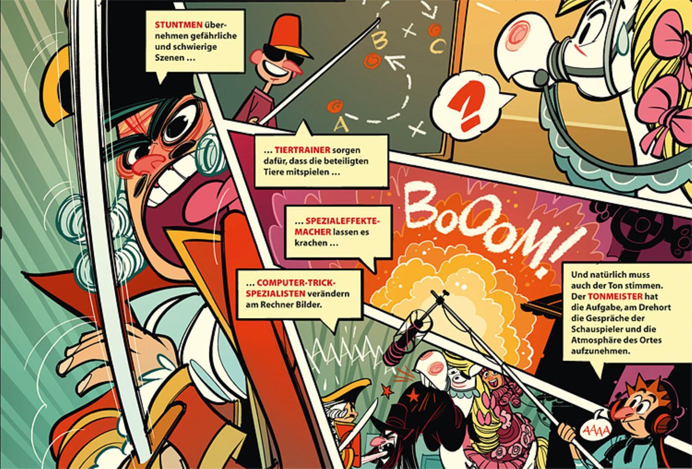 Comic: Wie entsteht ein Film? - Bild 15