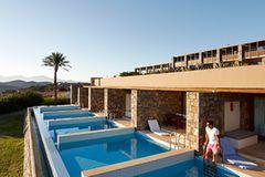 Strandhotel in Griechenland: Blue Palace auf Kreta