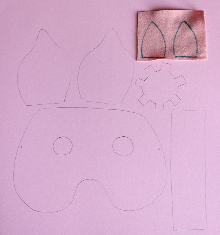 Karneval: Basteltipp: Faschingsmasken aus Pappe - Bild 3