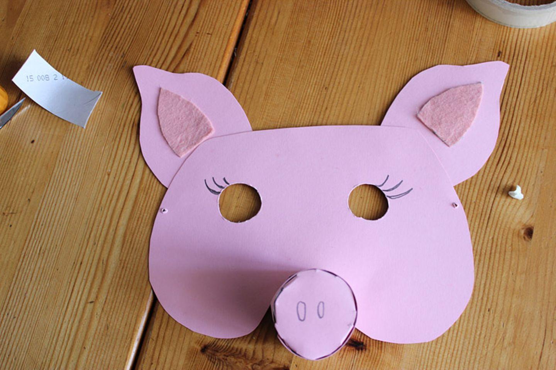 Karneval: Basteltipp: Faschingsmasken aus Pappe - Bild 11