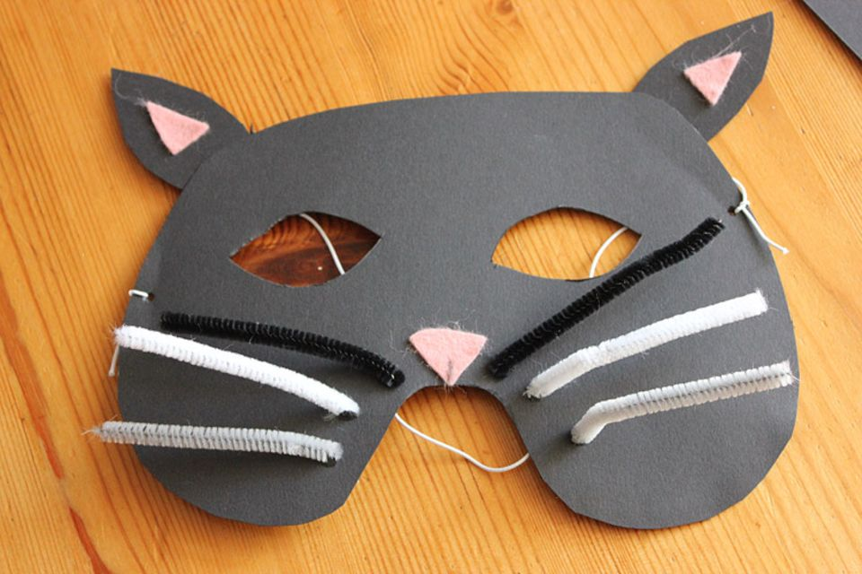 Karneval: Basteltipp: Faschingsmasken aus Pappe - Bild 16