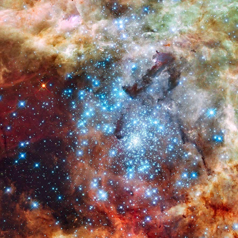 Kollidierende Sternhaufen
