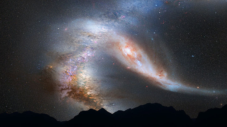 Galaxie voraus!
