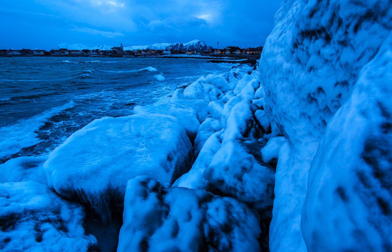 Eisige Kälte und wenig Licht