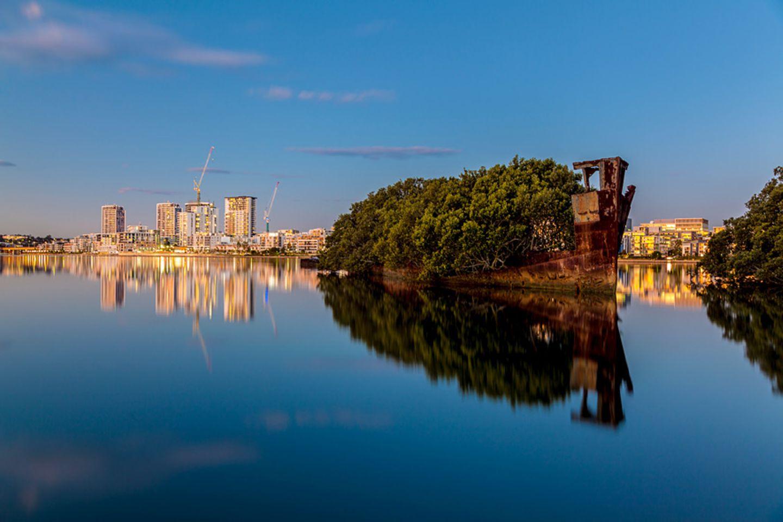 Schiffswrack SS Ayrfield, Sydney