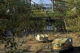 Der Freizeitpark von Pripyat, Ukraine