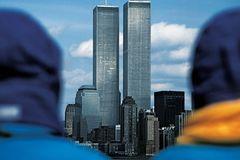 World Trade Center from Staten Island Ferry, 1981