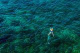 3. Platz: Der kleine Mann und das Meer