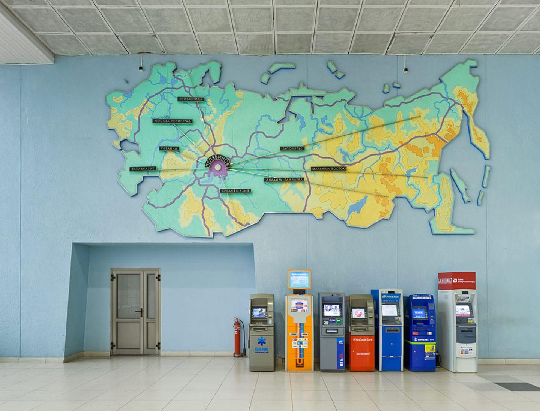 Flughafen in Tscheljabinsk