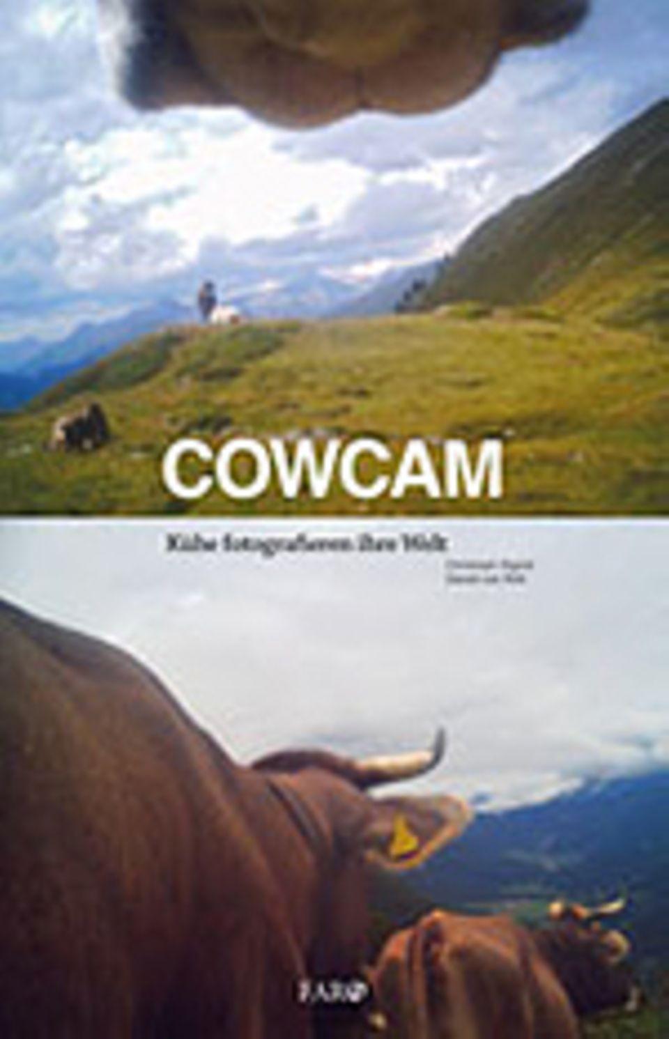 Schweizer Cowcam: Christoph Sigrist, Daniel von Rüti: Cowcam – Kühe fotografieren ihre Welt, 224 Seiten, 210 Farbfotos, Faro im Fona Verlag, 32 €, 2014