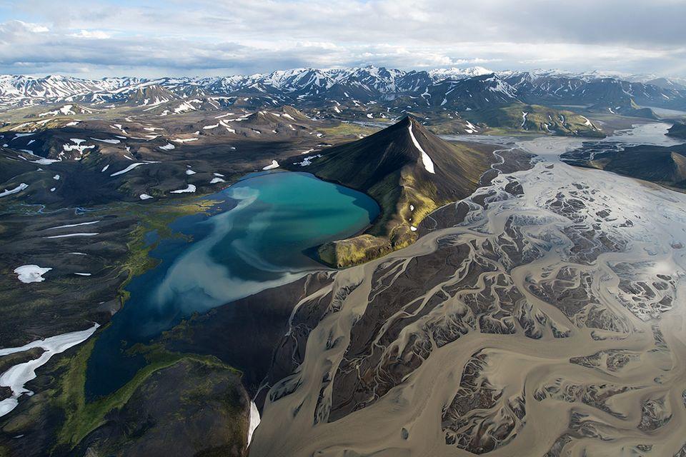 Luftbilder: Island von oben