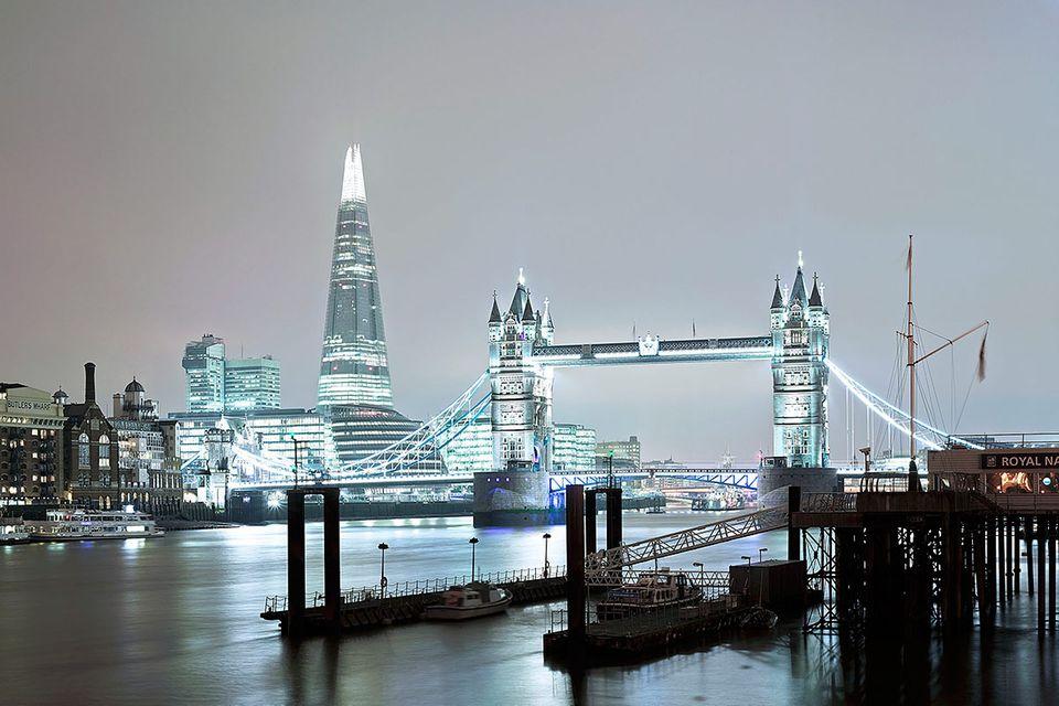 London: Tag und Nacht an der Themse