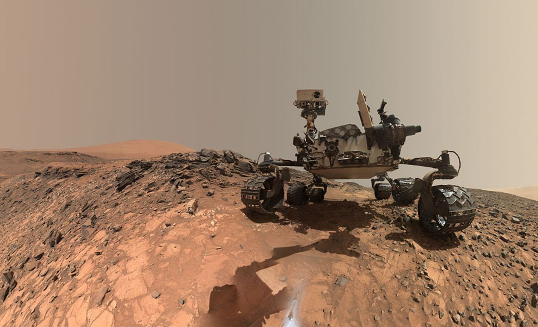 Mars-Rover Curiosity unterwegs zu neuen Zielen (29.10.2015)
