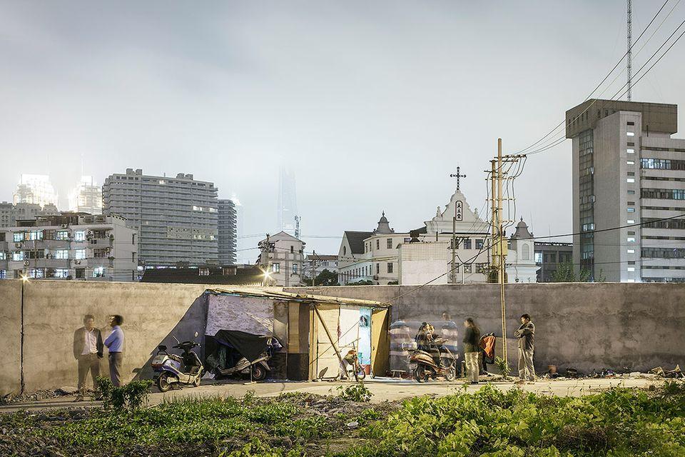 """Nail Houses"" in Shanghai: Baufällige Symbole des Widerstandes"