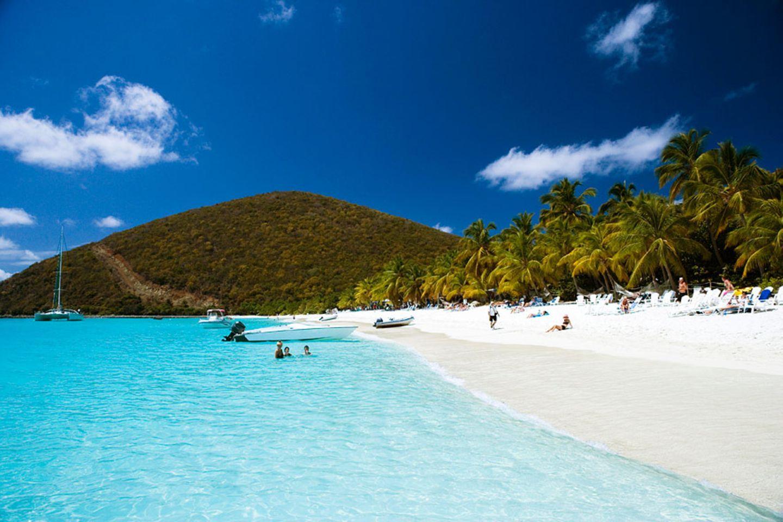 Karibik: Kleine Antillen / Inseln über dem Winde, Sint Maarten - Saint Martin