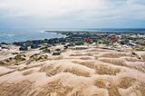Die Sanddüne von Schoina