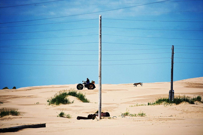 Die Sandfahrzeuge von Schoina