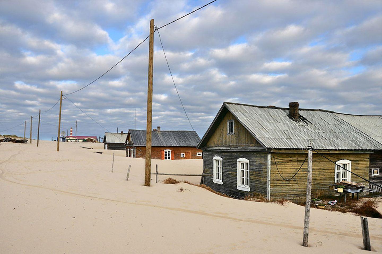 Das Dorf im Sand