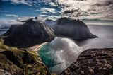 Kvalvika, Norwegen