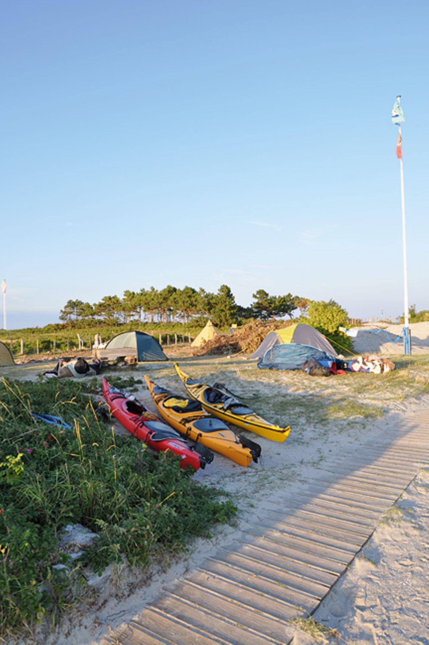 Cool Camping: Alte Lotseninsel/Schleimünde