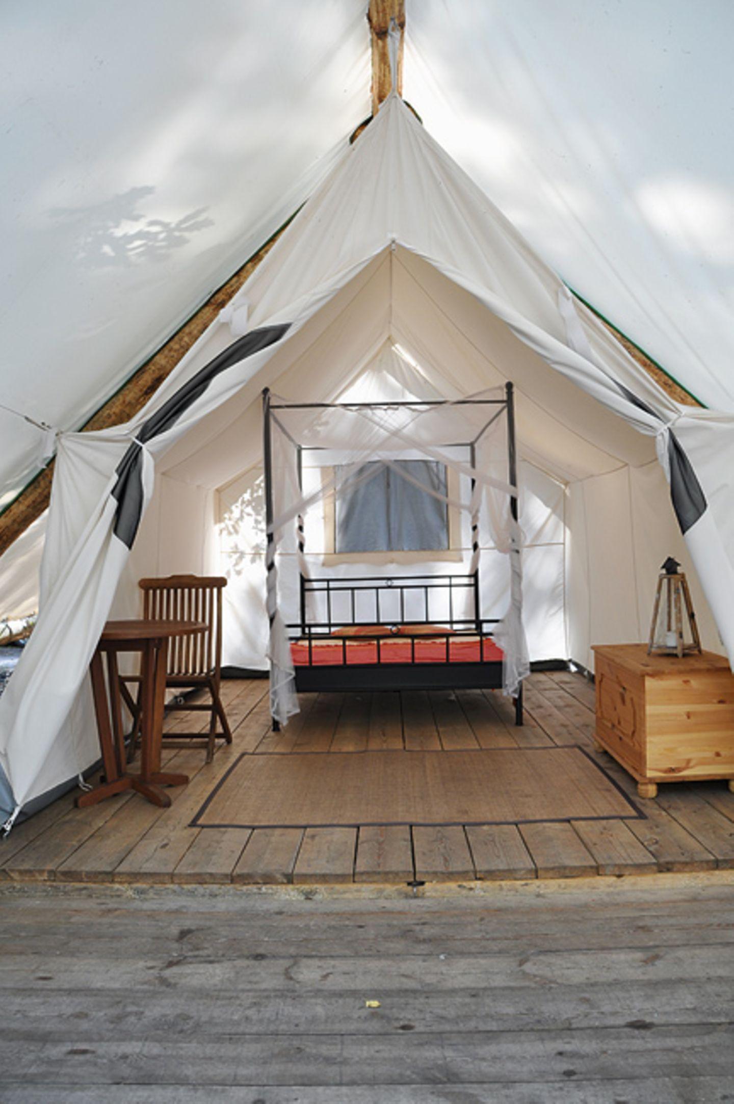 Cool Camping: Bibertours, Diemitz