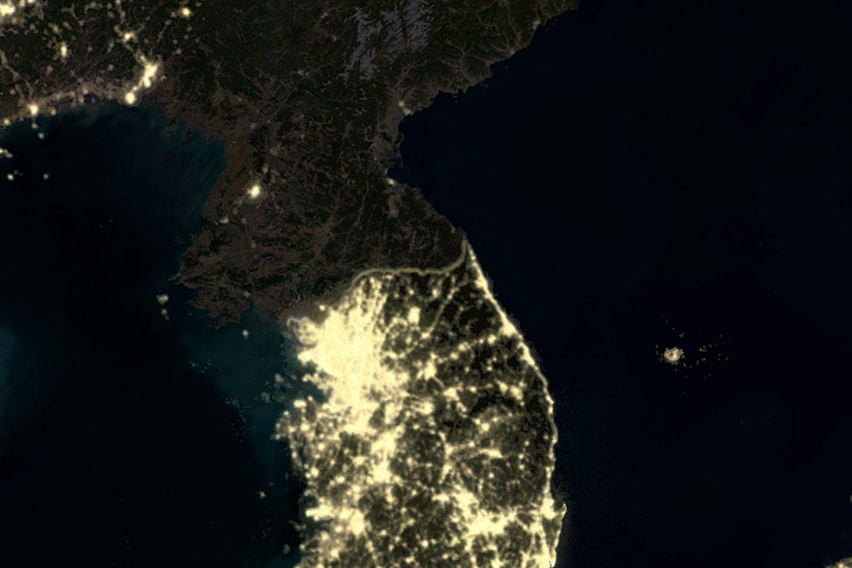 Südkorea überstrahlt den Norden
