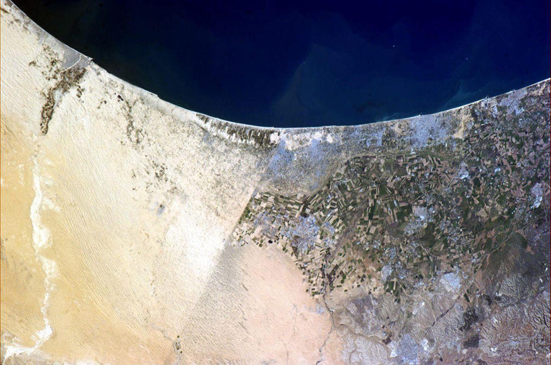 Blick aus der ISS