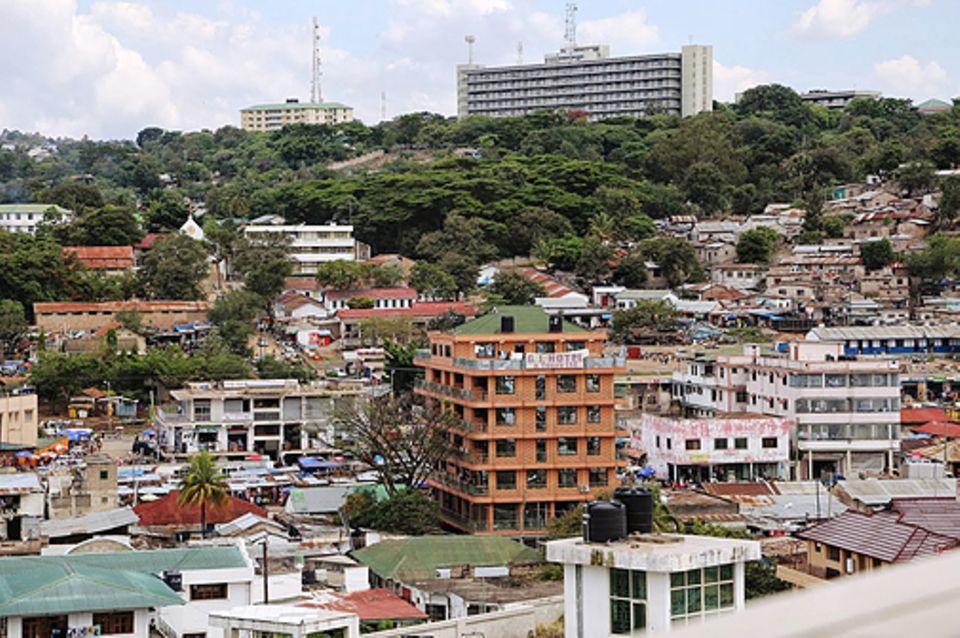 Beruf: Die Stadt Mwanza ist eine großes Industrie- und Wirtschaftszentrum Tansanias
