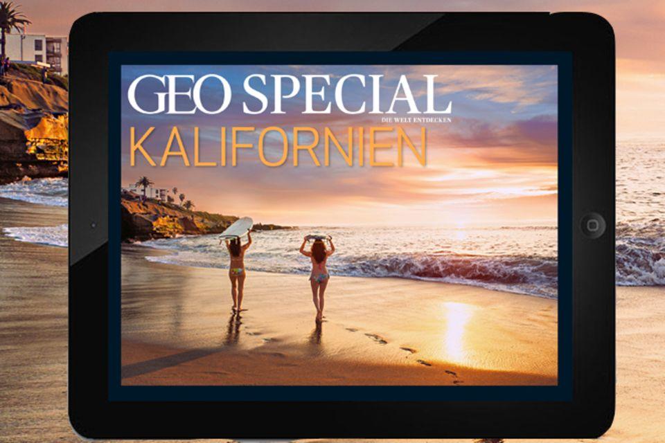 App: GEO Special App: Kalifornien
