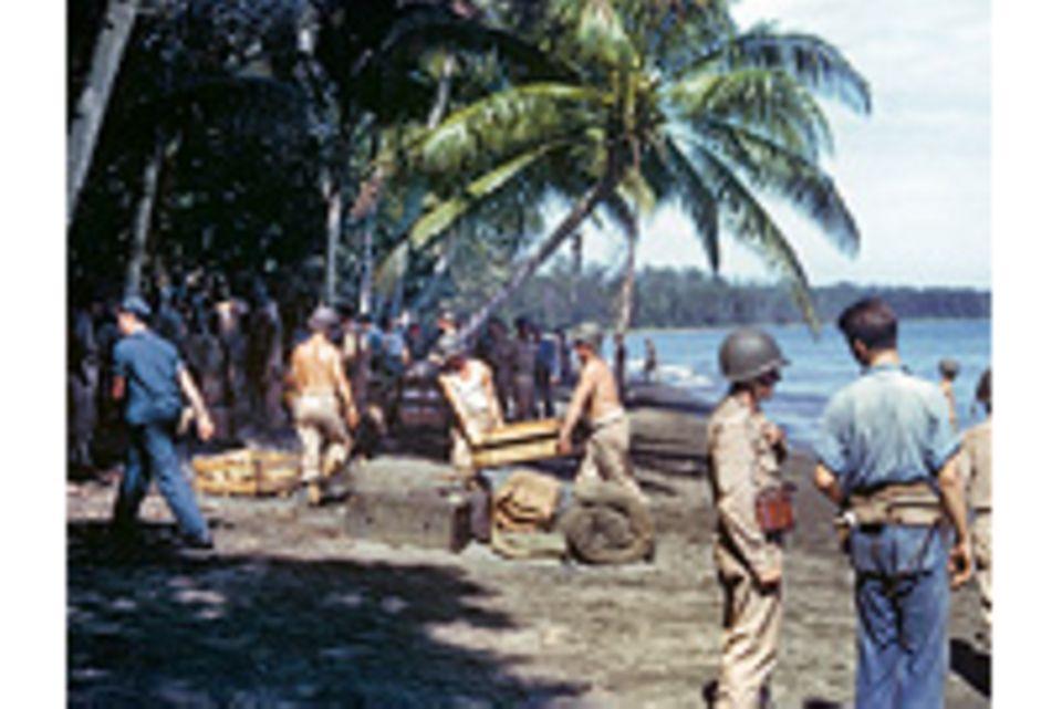 Zweiter Weltkrieg: Bildstrecke: Springen von Insel zu Insel