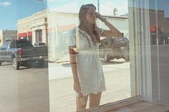 Einsame Spiegelung