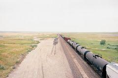 Einsamer Zug